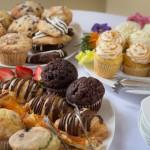 Breakfast pastries at Inner Banks Inn free breakfast