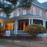 The Lords Proprietors, View from the road of our historic bed and breakfast in Edenton