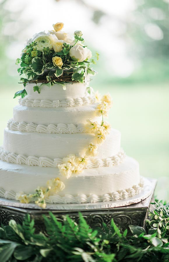 North Carolina wedding venues - wedding cake