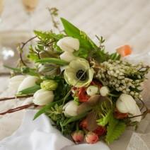 Seasonal Bouquet of Flowers