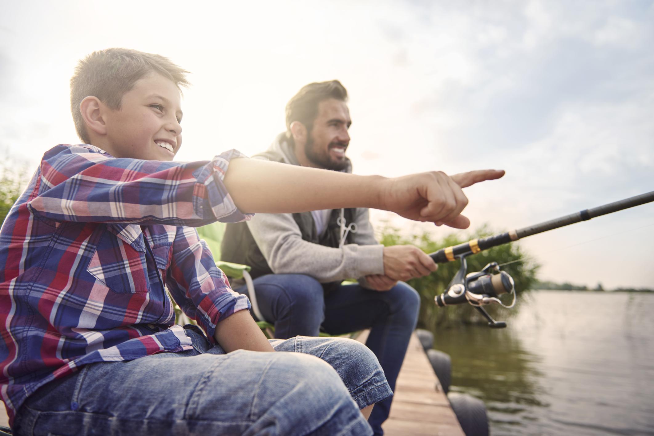 Fishing at Pocosin Lakes National Wildlife Refuge