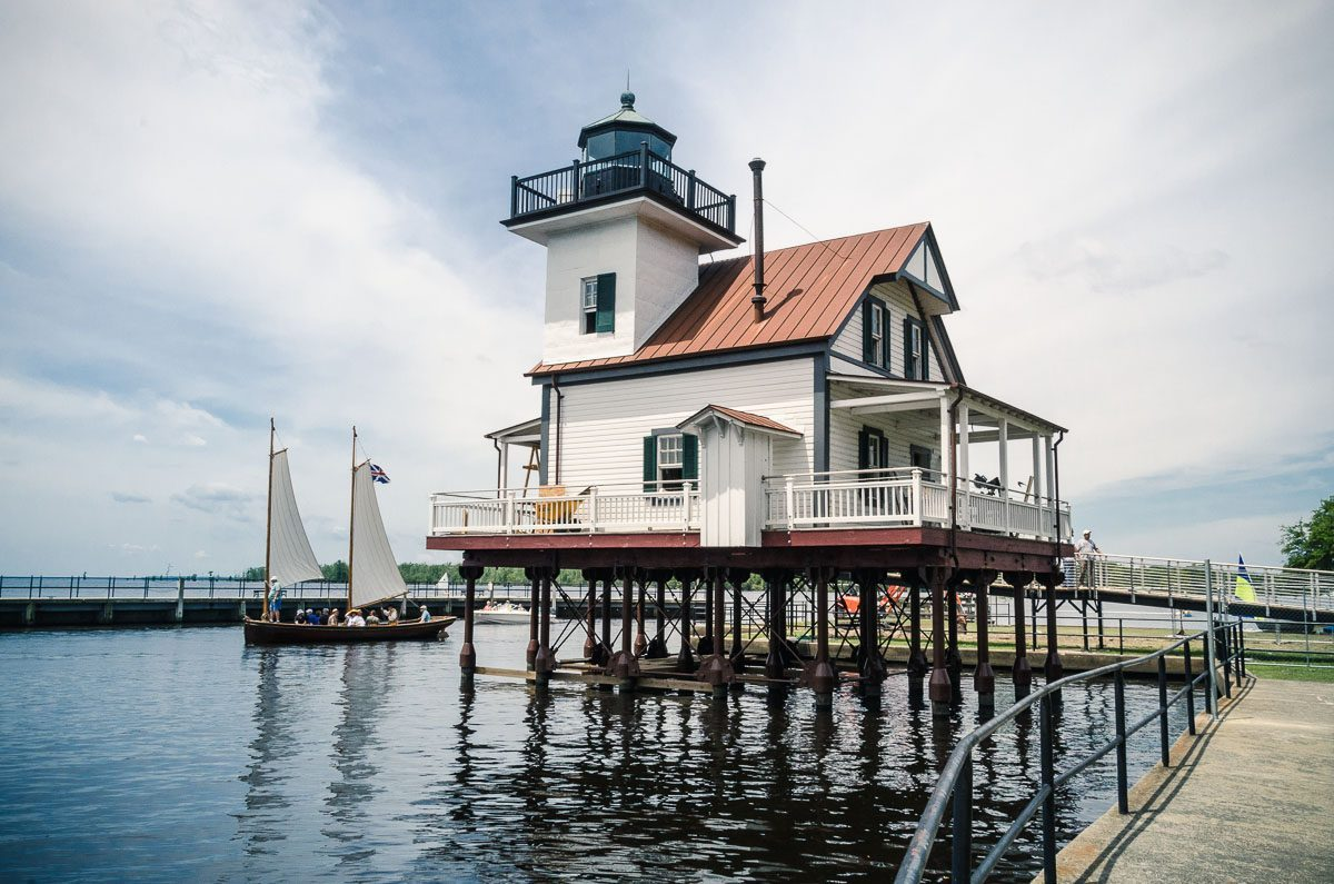 Learn Fascinating History at the Roanoke River Lighthouse