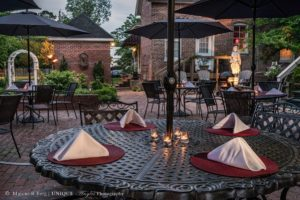 The Patio at the Inner Banks Inn