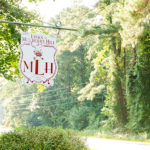 Mulberry Hill Wedding, entrance sign