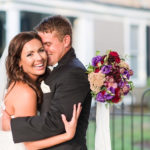 Bride and groom, Edenton Wedding