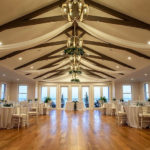 Grand hall set up for wedding at Inn at Mulberry Hill