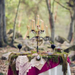Woodland Wedding, NC wedding table