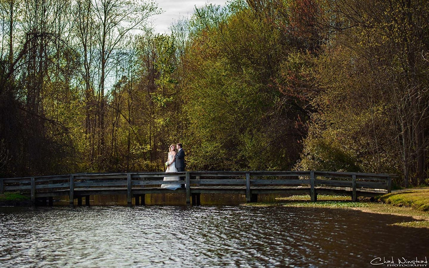 North Carolina Wedding - Bride and Groom