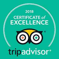 TripAdvisor's Certificate of Excellence Award