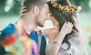 Elopement Wedding, North Carolina Bride and Groom